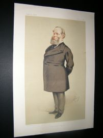 Vanity Fair Print 1875 Richard Baggallay, Legal
